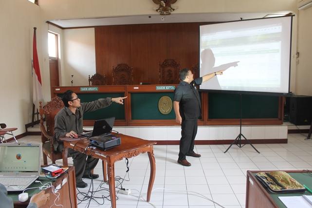 Pelatihan dan Sosialisasi SIPP oleh Wakil Ketua Pengadilan Negeri Klaten